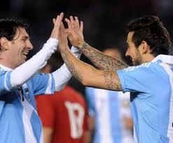 Messi - Lavezzi