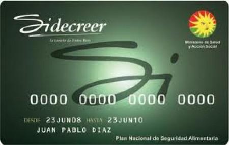 sidecreer tarjeta