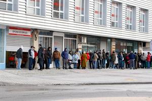desempleo crisis en Europa