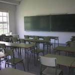 aula clases paro