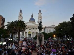 #NiUnaMenos Marcha paraná