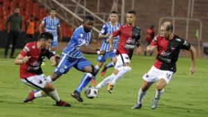 Mendoza: Godoy Cruz supera 1 a 0 a Colón, en un encuentro válido por la 21er. fecha de la Superliga. Foto: Alfredo Ponce/Télam/AMB 02/04/2018