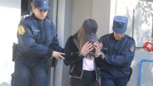 foto jose almeida segundo dia del juicio a nahir galarza por el homicidio de fernando pastorizzo gualeguaychu 5-06-2018  salida de nahir al terminar la audiencia