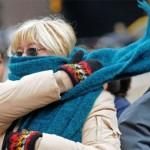Un frente polar produce bajas en las temperaturas en toda la región
