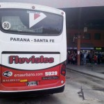 Aumentó el precio del boleto para viajar entre Paraná y Santa Fe