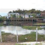 El río Paraná cerca de los niveles más bajos de la historia